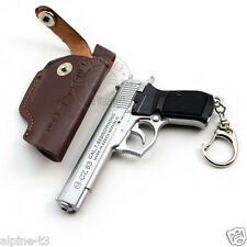 Cross Fire Pistol Gun Czech CZ 83 Browning metal Military Keychain Collect Gifts