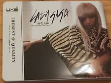 LADY GAGA-ASIAN IMPORT 2XCD IN A METALLIC FOLDOUT BOX-GODDESS OF TIME 28TRKS