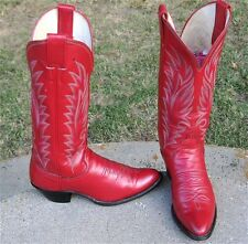 JUSTIN    COWGIRL  BOOTS LADIES  6.5'B