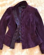 Ralph Lauren 100% Suede Extremely Soft Goat Suede Size 10 Purple Stunning