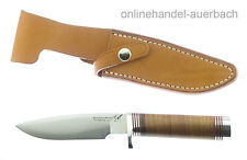 BLACKJACK KNIVES Model 125 Leder  Messer Outdoor Jagdmesser