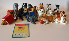 Vintage MEG Kitty Puppy In My Pocket Lot PVC Dog Cat 90s Figures