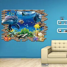Removable 3D DIY Finding Nemo Wall Stickers Art Decal Mural Kids Bedroom Decor