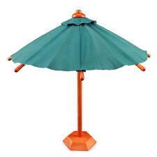 Reutter Porzellan Schirm mit Ständer / Standing Patio Umbrella Puppenstube 1:12