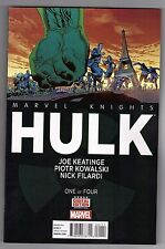 MARVEL KNIGHTS: HULK #1 - PIOTR KOWALSKI ART & COVER - 2014