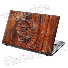 "Da 15,6 ""Laptop SKIN Cover Adesivo Decalcomania LEGNO Knot 320"