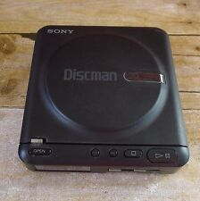 Vintage Sony Discman Model D-2 Portable CD Player Compact Disc Walkman 1988