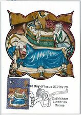 RELIGION Art -  GB : MAXIMUM CARD 1970  Bethlehem Llandeilo Carms 5d