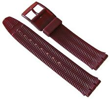"ORIGINAL SWATCH 17mm ARMBAND ""RED WOOD"" (ASDR100) NEUWARE"