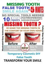 Super Value TEMP TOOTH MISSING TOOTH TEMPORARY REPAIR DIY TEETH FALSE DENTAL FIX