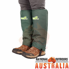 2 Pair Snake Gaiters Bow Hunting Shooting Stalking Hiking Camping Snake Defence