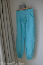 NEW AUTHENTIC MELISSA ODABASH BLUE TROUSERS  SIZE SMALL