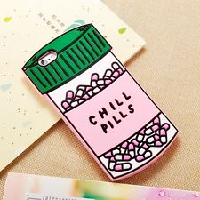 Chill Pills Bottle Cute Pink Soft Gel Silicone Case Phone Cover - iPhone 7 Plus