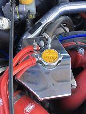Subaru impreza header tank cover. subaru en-tête couverture. poli réservoir collecteur cover