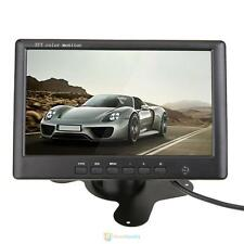"""HD 7"""" Color TFT LCD Car Rear View Headrest Monitor 2-Channel Video Input 800*480"""
