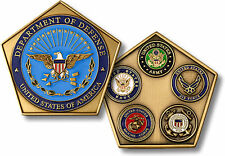 Department of Defense Pentagon / US Armed Forces Challenge Coin