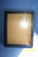 "Shadow Box Frame 10"" x 8""  Color: Black (For Use With Your Collectibles)"