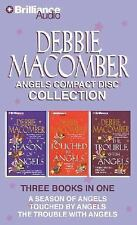 FREE SHIPPING!   DEBBIE MACOMBER ANGELS CD COLLECTION 3 audio books in 1