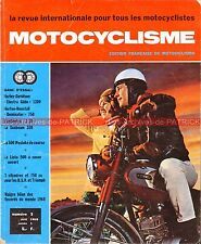 MOTOCYCLISME  3 HARLEY DAVIDSON 1200 Electra Glide NORTON DUNSTALL SUNBEAM 1969
