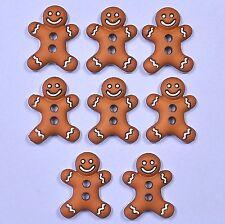 Dress it up boutons glacé cookies 5553-pain d'épice hommes-noël-noël