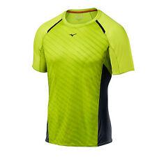 MIZUNO Mens Aero Athletic Fitness Running Cross Fit Cross Train Shirt MED - NEW
