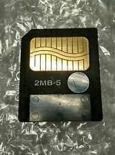 5V 5volt 2MB SmartMedia Memory Card SM card Made in Japan special 5volt not3.3