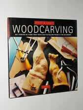 Peter Berry Start-A-Craft Woodcarving Easy To Follow Projects. HB/DJ 1998.