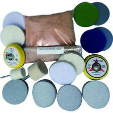 Deep Scratch Remover ,Glass Polishing Kit 8 OZ Cerium Oxide and 2'' Wheel hidtop