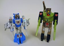 Transformers G1 1987 Headmasters Lot X2 Highbrow & Hardhead Complete for repair