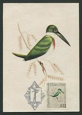 VENEZUELA MK 1962 VÖGEL BIRDS VOGEL OISEAU MAXIMUMKARTE MAXIMUM CARD MC CM d634