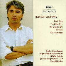 Russian Folk Songs - Dmitri Hvorostovsky (2008, CD NEUF)2 DISC SET
