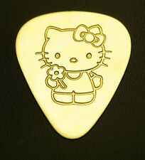 HELLO KITTY - Solid Brass Guitar Pick, Acoustic, Electric, Bass