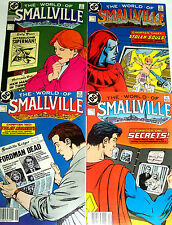 WORLD OF SMALLVILLE #1-4 Full Set! Canadian Price Variants! Superman! John Byrne