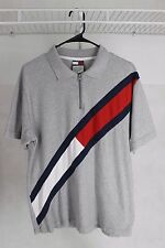 Vintage 90s Tommy Hilfiger Flag Polo Shirt Size M Polo Sport Lotus Sailing Gear