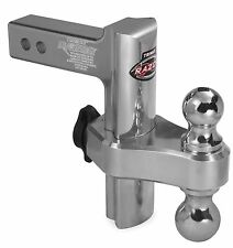 Trimax Razor 8 Adjustable Hitch Ball Mount w/ Dual Hitch Ball 2 ...