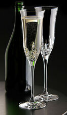 "Waterford Crystal ""Lismore Essence"" Champagne Flute, Pair Brand New"