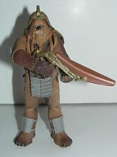 """Star Wars Wookiee Warrior 2005 Revenge of the Sith Sneak Preview 3-3/4"""" Scale a"""