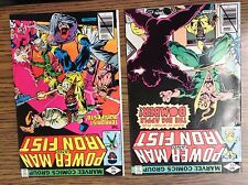 Power Man Iron Fist comic LOT 51 issues