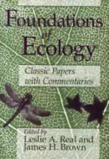 Foundations of Ecology: Classic Papers with Commentaries by