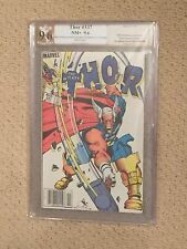 Thor #337 PGX 9.6 WHITE Signed Walt Simonson (1st Appearance of Beta Ray Bill)