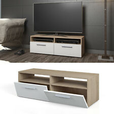 Mobile porta TV lowboard mensola armadio credenza scaffale sonoma bianco