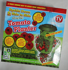 "HANGING  ""UPSIDE DOWN"" TOMATO PLANTER GROW YOUR OWN FRESH FRUIT OR VEG"