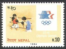 Nepal 1984 Olympic Games/Olympics/Sports//Boxing/Animation 1v (n40507)