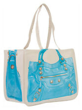 THURSDAY FRIDAY MOTO BLUE TOGETHER CANVAS TOTE BAG £65!