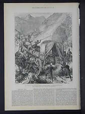 Illustrated London News Full Page B&W S6#132 Feb 1879 Natal Mounted Police
