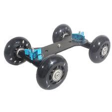 Table Top Dolly Mini Car Skater Track Slider Super Mute for DSLR Camera DMNew