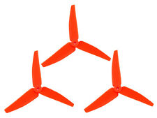 *~ LX3P200SRX-821 Lynx Plastic 3 Bladed Propeller 82 mm - Orange Neon [Blade 200