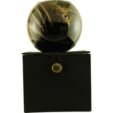 Ebony Candle Globe The Inside Of This 4 In Polished Globe Is Painted With Wax To