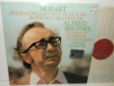 9500 145 Mozart Piano Concerto In E Flat K.482 Rondos K.382&K.386 Alfred Brendel