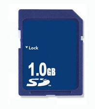 1GB SD Memory Card Standard Secure Digital OEM New W/Case